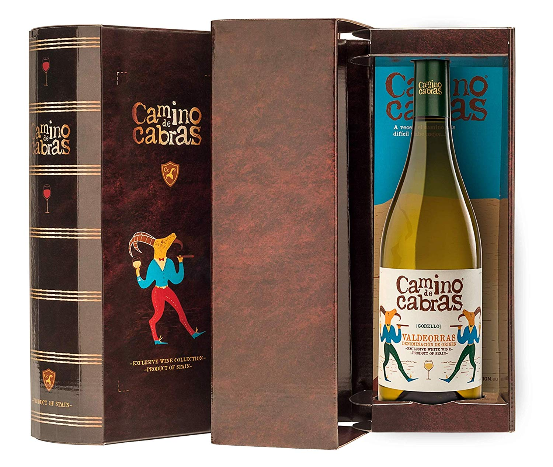 CAMINO DE CABRAS Estuche regalo - vino blanco - Godello