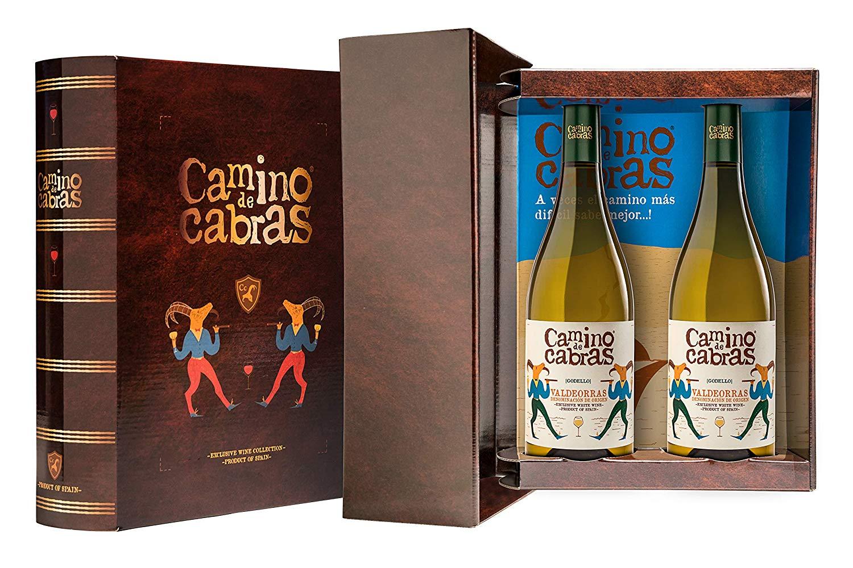 CAMINO DE CABRAS Estuche regalo2 - vino blanco - Godello