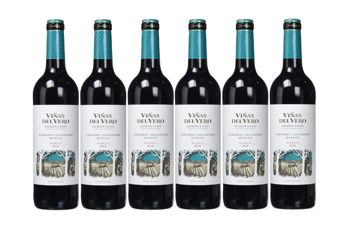 Viñas Del Vero Tinto Cabernet-Merlot ROBLE